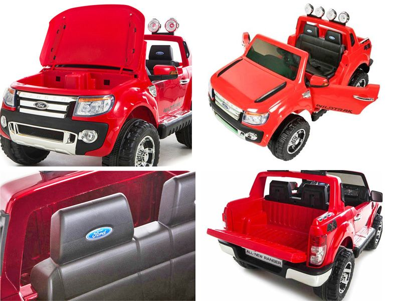 Ford Ranger SUV Official Toy Jeep RED | 12v battery powered kids sit u0026 ride-in car  sc 1 st  Radio Control RC Models & Ranger SUV Official Toy Jeep RED | 12v battery powered kids sit ... markmcfarlin.com